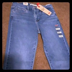 Levis super skinny jeans high rise  720